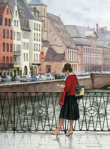 The Lady in Red, Strasbourg