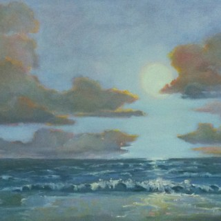Maui Moonrise by Julie Houck