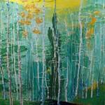 Aspen Trees by Blanche Serban