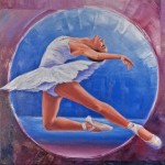 "Prima Ballerina donated by Lee Chabot ""Art for a Heart"""