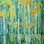 Aspen Trees by Blanche Serban