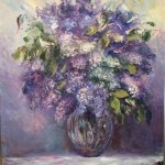 Lilac Bouquet by Domine Vescera Ragosta