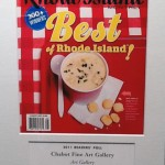 """RI Monthly Award Best Art Gallery"""