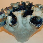 """""""Blue Fluted Vase"""""""