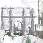 """Arch of Constatine, Rome"""