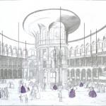 """The Ranelagh Rotunda Interior, Chelsea, England"""