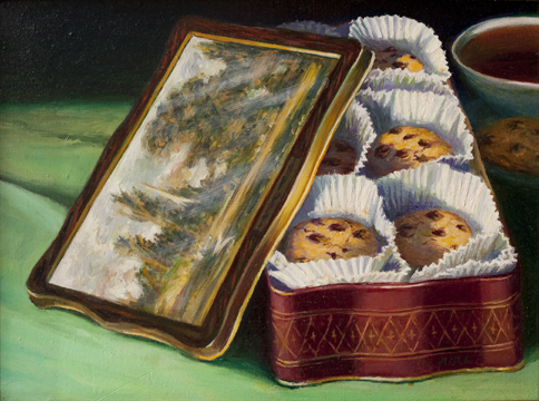 """Constable Cookie Tin"""