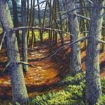 'Luminous Pines'