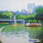 """Swan Boat Boston Commons"""