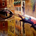 Reflections in Venice by David Felix