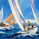 Blue Water Sailing by Lee Chabot