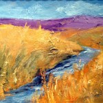 """Running Stream donated by Lee Chabot """"Art for a Heart"""""""