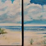 Sandy Beach by Blanche Serban