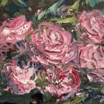 Tapestry of Roses by Domine Vescera Ragosta