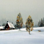 Winter Twilight by Carolyn Latanision