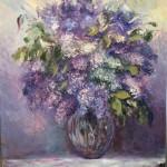 Lilac Bouquet by Domine Vescera Ragosta