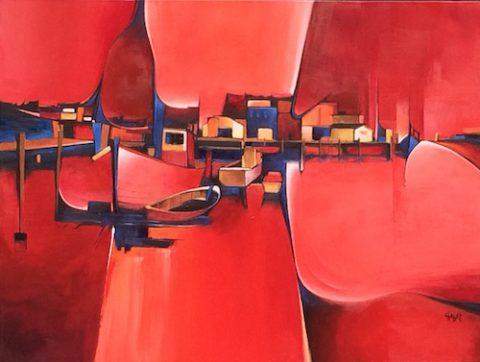 Indigo Shadows by Lee Chabot
